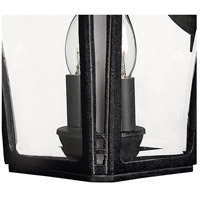 Hinkley 1334MB Wabash 2 Light 14 inch Museum Black Outdoor Wall Mount in Incandescent alternative photo thumbnail