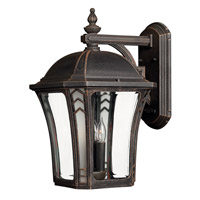 Wabash LED 19 inch Mocha Outdoor Wall Lantern