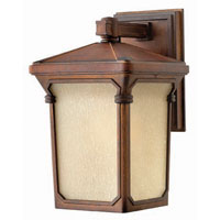 Hinkley Lighting Stratford 1 Light Outdoor Wall Lantern in Auburn 1350AU photo thumbnail
