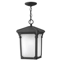 Hinkley 1352MB Stratford 1 Light 10 inch Museum Black Outdoor Hanging Lantern in Incandescent
