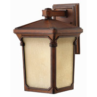 Hinkley Lighting Stratford 1 Light Outdoor Wall Lantern in Auburn 1354AU-ES