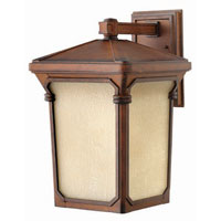 Hinkley Lighting Stratford 1 Light Outdoor Wall Lantern in Auburn 1355AU