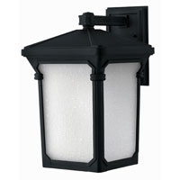 Hinkley Lighting Stratford 1 Light Outdoor Wall Lantern in Museum Black 1355MB-ES photo thumbnail