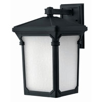 Hinkley Lighting Stratford 1 Light Outdoor Wall Lantern in Museum Black 1355MB-LED photo thumbnail