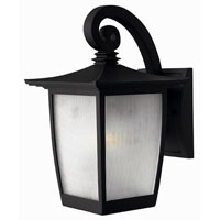 Hinkley Lighting Pearl 1 Light Outdoor Wall Lantern in Black 1360BK-DS photo thumbnail