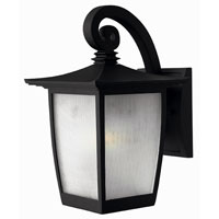 Hinkley Lighting Pearl 1 Light Outdoor Wall Lantern in Black 1360BK-ESDS
