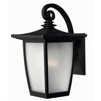 Hinkley Lighting Pearl 1 Light Outdoor Wall Lantern in Black 1364BK-ES photo thumbnail