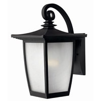 Hinkley Lighting Pearl 1 Light Outdoor Wall Lantern in Black 1364BK photo thumbnail