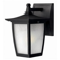 Hinkley Lighting Pearl 1 Light Outdoor Wall Lantern in Black 1366BK photo thumbnail