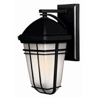 Hinkley Lighting Buckley 1 Light Outdoor Wall Lantern in Black 1370BK