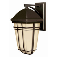 Hinkley Lighting Buckley 1 Light Outdoor Wall Lantern in Olde Bronze 1374OB-LED photo thumbnail