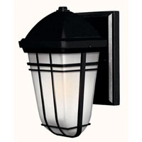 Hinkley Lighting Buckley 1 Light Outdoor Wall Lantern in Black 1376BK