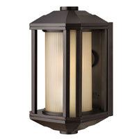 Hinkley Lighting Castelle 1 Light Outdoor Wall Lantern in Bronze 1396BZ-ES photo thumbnail