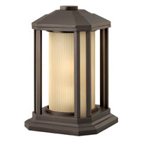Hinkley Lighting Castelle 1 Light Pier Mount Lantern in Bronze 1397BZ-ES photo thumbnail