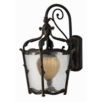 Hinkley Lighting Sorrento 1 Light Outdoor Wall Lantern in Aged Iron 1424AI-ES photo thumbnail