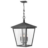 Hinkley 1428DZ-LL Trellis LED 16 inch Aged Zinc Outdoor Hanging Lantern