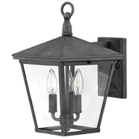 Hinkley 1429DZ-LL Trellis LED 15 inch Aged Zinc Outdoor Wall Mount, Small