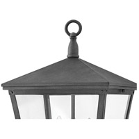 Hinkley 1431DZ Trellis 3 Light 21 inch Aged Zinc Outdoor Post Mount in Incandescent alternative photo thumbnail