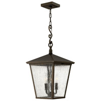 Hinkley 1432RB-LL Trellis LED 11 inch Regency Bronze Outdoor Hanging Lantern in Candelabra LED