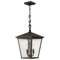 Trellis 3 Light 11 inch Regency Bronze Outdoor Hanging Lantern in Incandescent