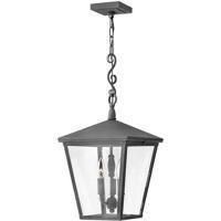 Hinkley 1432DZ-LL Trellis LED 11 inch Aged Zinc Outdoor Hanging Light