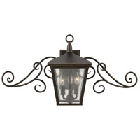 Hinkley 1433RB-LL Trellis LED 15 inch Regency Bronze Outdoor Wall Mount in Candelabra LED