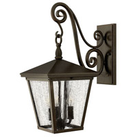 Trellis 3 Light 20 inch Regency Bronze Outdoor Wall Lantern in Incandescent