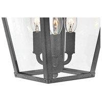 Hinkley 1434DZ-LL Trellis LED 20 inch Aged Zinc Outdoor Wall Mount alternative photo thumbnail