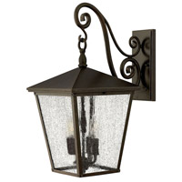 Hinkley 1435RB Trellis 3 Light 22 inch Regency Bronze Outdoor Wall Lantern in Incandescent