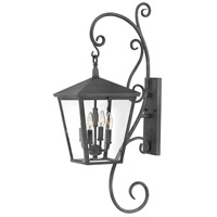 Trellis LED 36 inch Aged Zinc Outdoor Wall Mount