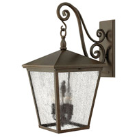 Hinkley Lighting Trellis 4 Light Outdoor Wall Lantern in Regency Bronze 1438RB