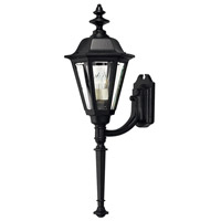 Manor House 1 Light 31 inch Black Outdoor Wall Lantern