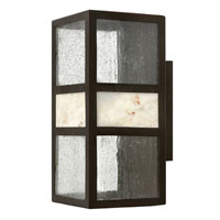 Hinkley Lighting Sierra 1 Light Outdoor Wall Lantern in Spanish Bronze 1454SB