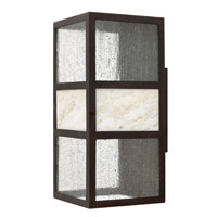 Hinkley Lighting Sierra 1 Light Outdoor Wall Lantern in Spanish Bronze 1455SB