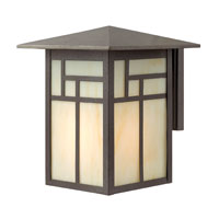 Hinkley Lighting Canyon 1 Light Outdoor Wall Lantern in Forged Iron 1464FI photo thumbnail