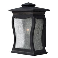 Hinkley Lighting Richmond 1 Light Outdoor Wall Mount in Museum Black 1480MB