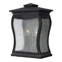 Hinkley Lighting Richmond 2 Light Outdoor Wall Mount in Museum Black 1484MB