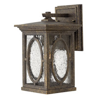 Hinkley Lighting Randolph 1 Light Standard Outdoor Wall Lantern in Autumn 1490AM