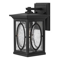 Hinkley 1490BK-GU24 Randolph 1 Light 11 inch Black Outdoor Wall in GU24