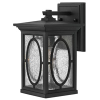 Hinkley 1490BK Randolph 1 Light 11 inch Black Outdoor Wall in Incandescent