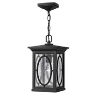 Randolph 1 Light 8 inch Black Outdoor Hanging in GU24