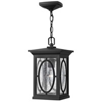 Hinkley Lighting Randolph 1 Light LED Outdoor Hanging in Black 1492BK-LED photo thumbnail