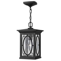 Hinkley 1492BK Randolph 1 Light 8 inch Black Outdoor Hanging Light in Incandescent