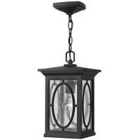 Hinkley 1492BK Randolph 1 Light 8 inch Black Outdoor Hanging Light
