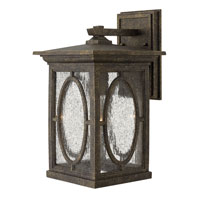 Hinkley Lighting Randolph 1 Light Dark Sky Outdoor Wall Lantern in Autumn 1494AM-DS photo thumbnail