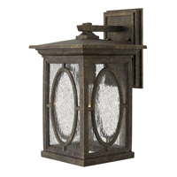 Hinkley 1494AM Randolph 1 Light 14 inch Autumn Outdoor Wall Lantern in Incandescent photo thumbnail