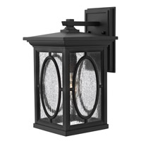 Hinkley 1494BK-GU24 Randolph 1 Light 14 inch Black Outdoor Wall in GU24