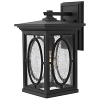 Hinkley 1494BK-LED Randolph 1 Light 15 inch Black Outdoor Wall in LED photo thumbnail