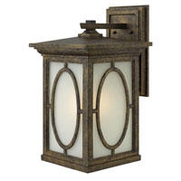 Hinkley 1495AM Randolph 1 Light 20 inch Autumn Outdoor Wall in Incandescent