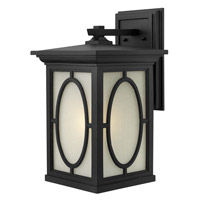 Hinkley Lighting Randolph 1 Light GU24 CFL Outdoor Wall in Black 1495BK-GU24